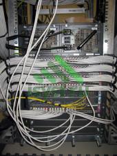 Коммутация шкафа СКС с оптическими кроссами