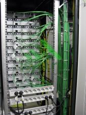 Шкаф с оптическими кроссами (проект, монтаж, обслуживание СКС, ВОЛС, ЛВС)