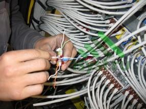 Расключение кабеля категории 7e (проектирование, монтаж, обслуживание СКС, ВОЛС, ЛВС)
