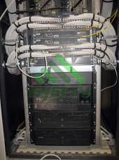 Шкаф СКС с оптическим входом
