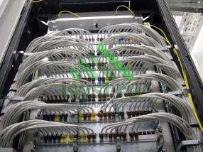 Маркировка проводов СКС в шкафу (проект, установка, обслуживание СКС, ВОЛС, ЛВС)