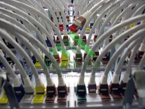 Маркировка проводов СКС в сервере