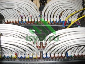 Маркировка проводов СКС в серверной