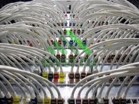 Маркированный телекоммуникационный шкаф