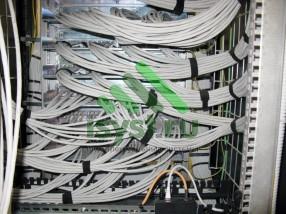 Обвязка проводов в шкафу СКС (проект, установка, обслуживание СКС, ВОЛС, ЛВС)
