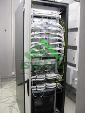 Серверная СКС в сборе (проект, монтаж, обслуживание СКС, ВОЛС, ЛВС)