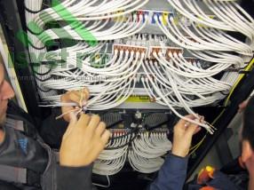 Обжим кабеля СКС  (проект, монтаж, обслуживание СКС, ВОЛС, ЛВС)