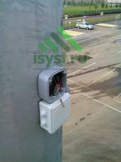 Коммутационная коробка для видеокамеры (монтаж и обслуживание систем видеонаблюдения)