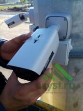 Регулировка угла камеры видеонаблюдения (установка и техническое обслуживание систем видеонаблюдения)
