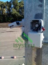 Коммутация уличной видеокамеры (установка и техническое обслуживание систем видеонаблюдения)