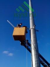 Монтаж камер выше 5 метров (монтаж и обслуживание видеонаблюдения)