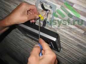 Монтаж цветного видеодомофона Commax (продажа, установка, настройка, техническое обслуживание домофонов)