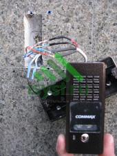 Подключение вызывной панели Commax