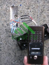 Подключение вызывной панели Commax (продажа, монтаж и техническое обслуживание домофонов)
