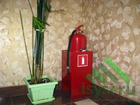 Средство пожаротушения - огнетушитель (установка в помещении)